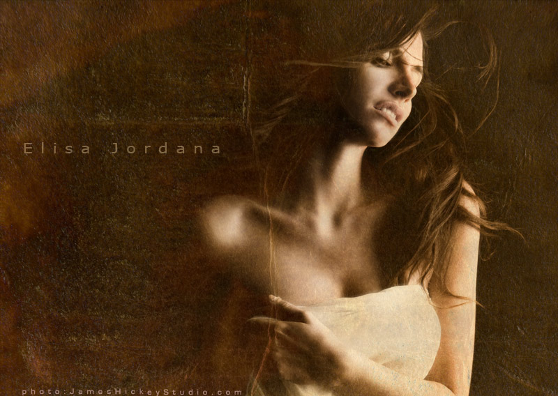 music fine art concept photography  A new look for pop singer Elisa Jordana by James Hickey Studio elisa logo1
