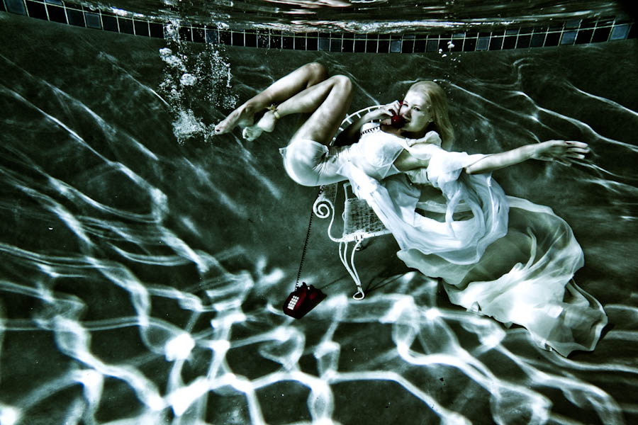 underwater photography concept photography  Lauren Bennett of the Paradiso Girls go Underwater for James Hickeys Newest Creative Photography Project JamesHickeyStudio 600px 2