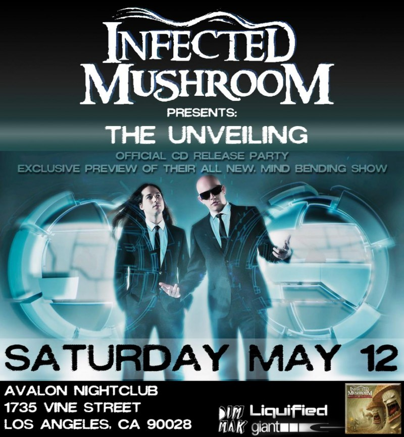 Infected Mushroom @ Avalon Hollywood – Hollywood, CA on May. 12 2012