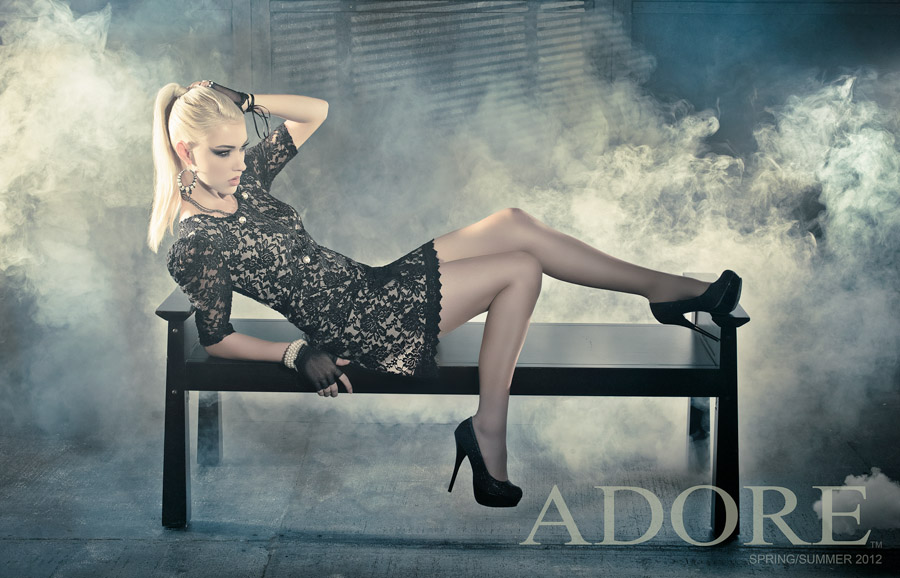Adore Spring/Summer 2012, Model: Stefanie Uncles, Photographer: James Hickey