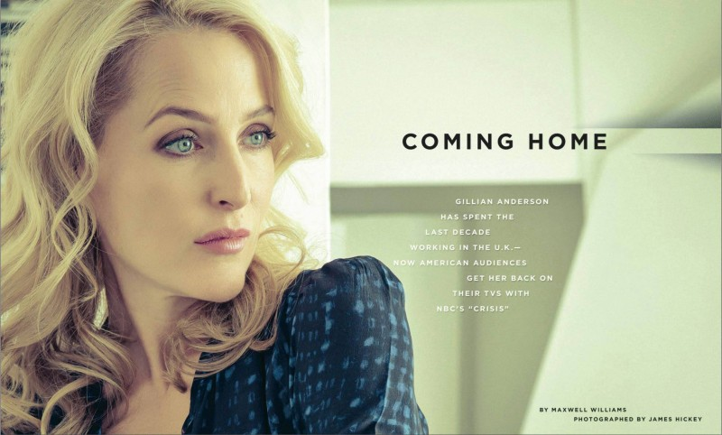 Gillian Anderson - James Hickey
