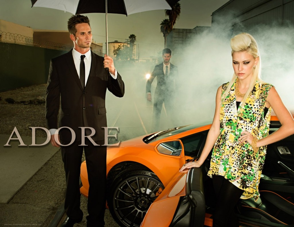 ADORE Spring Summer 2013 Designer: Sam Far Photo: James Hickey Model: Stefanie Uncles Stylist: Mikel Padilla Hair: Rene Antonio Hair: Andrew Miranda Makeup: Satya Linak Grip: Arash Peyk
