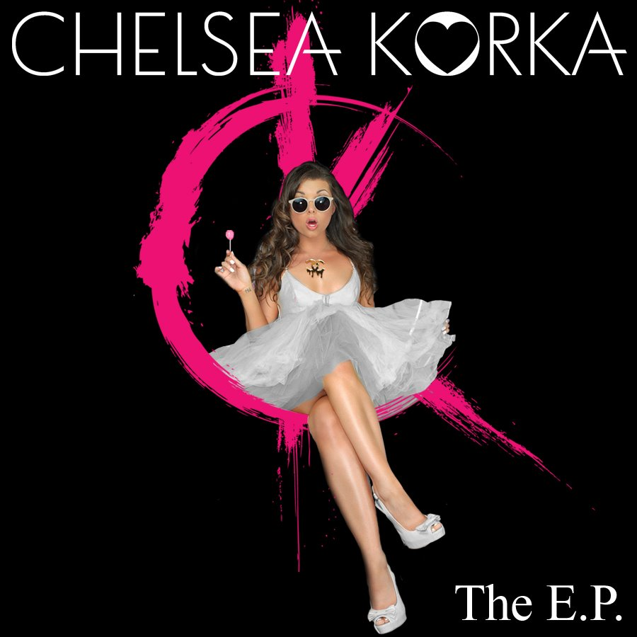 Chelsea Korka CD cover The E.P. shoot in Los Angeles with photographer James Hickey