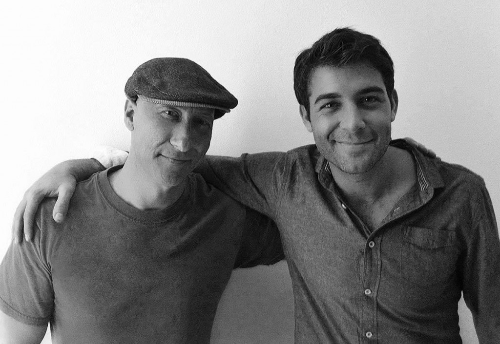 James Wolk behind the scenes, with James Hickey for Backstage Magazine.