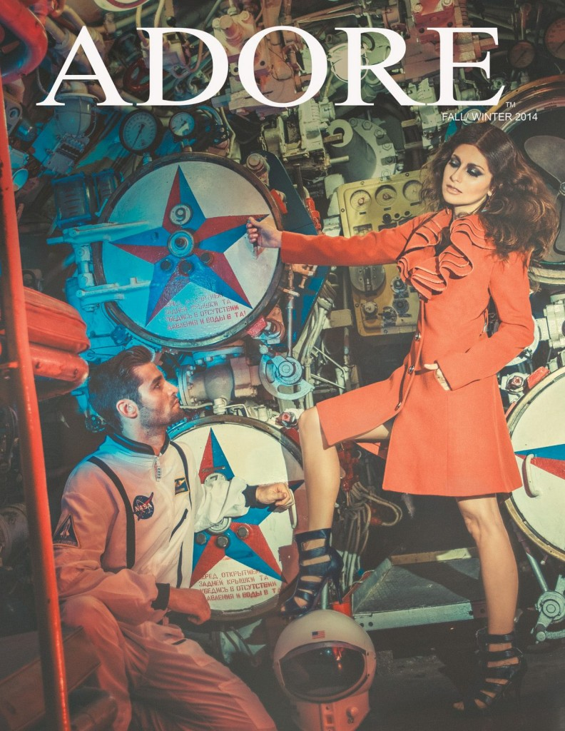 Adore Apparel Fall/Winter 2014 Designer: Sam Far Photographer: James Hickey Model: Nadia Lanfranconi Male Model: Jeremy Cohen Hair: Andrew Miranda