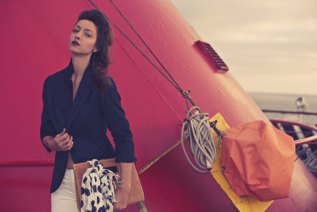 Cruising Fashion Editorial, with model Tatiana Junqueira. Photo by Los Angeles Fashion Photographer James Hickey.