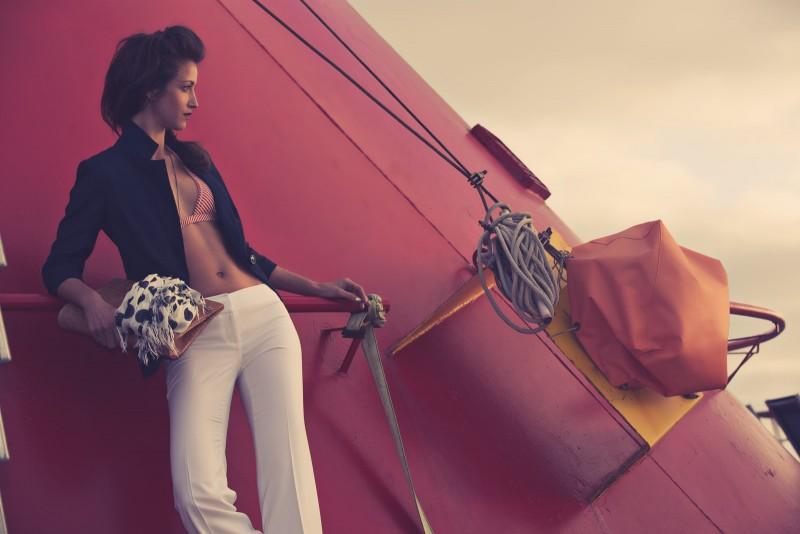 A fashion editorial with Tatiana Junqueira