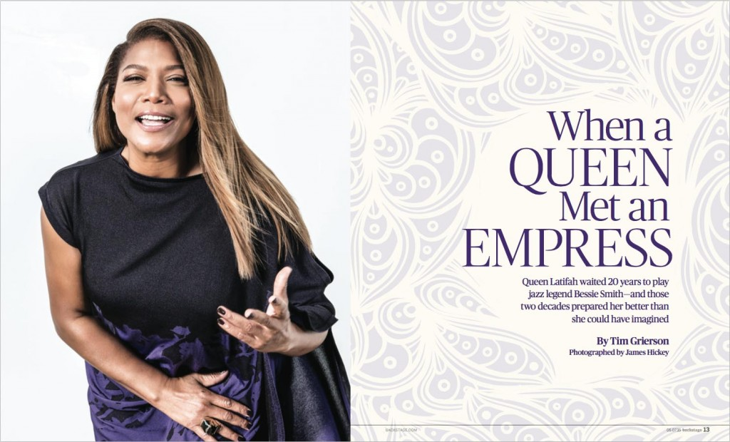 Queen Latifah photograph by James Hickey
