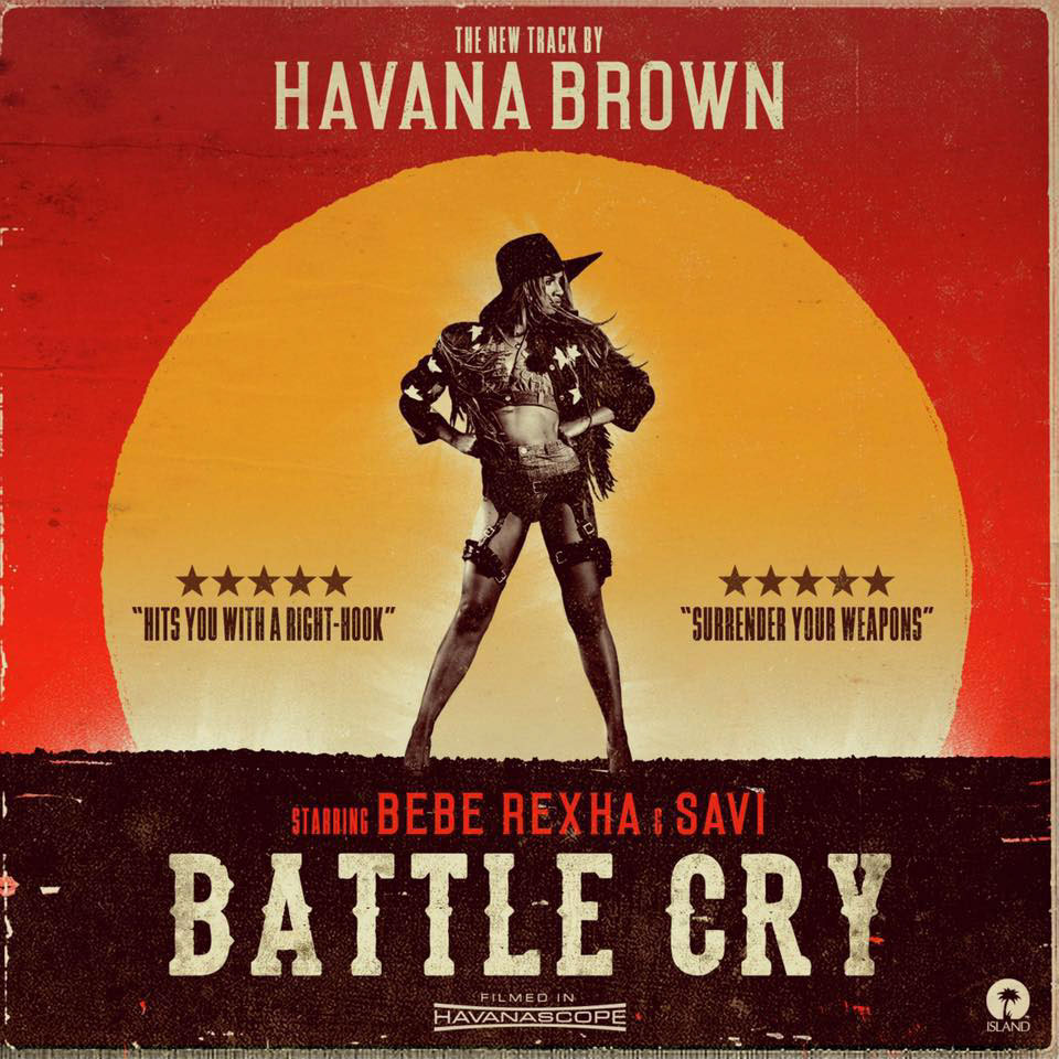 Havana Brown BATTLE CRY featuring BeBe Rexha & Savi. Photo by Los Angeles music photographer James Hickey.