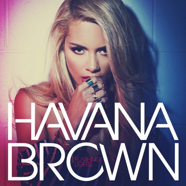 Havana Brown Flashing Lights Album Cover by Los Angeles Fashion Photographer James Hickey