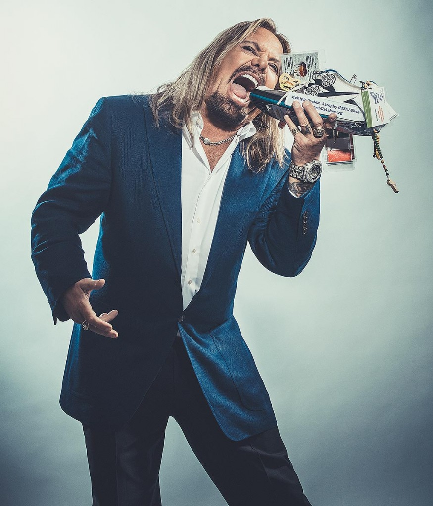 Vince Neil of Motley Crue helps fight MSA. Photo by LA celebrity photographer James Hickey.