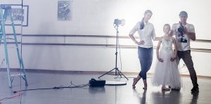 Dance Company Photography - Santa Cruz Ballet Theatre with James Hickey and Tatiana Junqueira