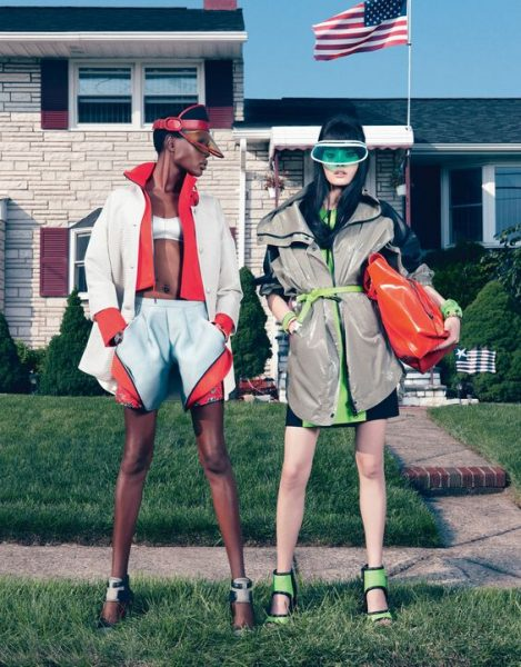 W Magazine Sports Inspired Fashion