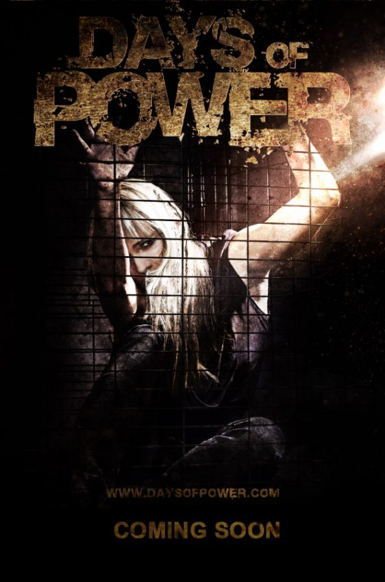 Days of Power Poster with Recording Artist Milow the Girl and Los Angeles Music Photographer James Hickey