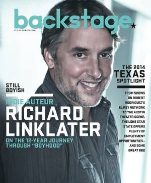 Director Richard Linklater photographed by James Hickey.