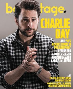 Charlie Day. Photo by James Hickey