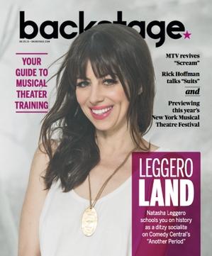 Natasha Leggero, photo by James Hickey for Backstage Magazine