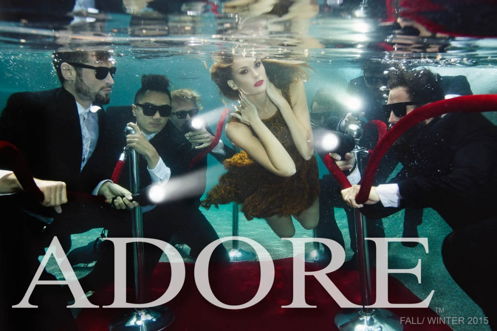 Adore Fall Winter 2015 campaign. LA Fashion Photographer: James Hickey.