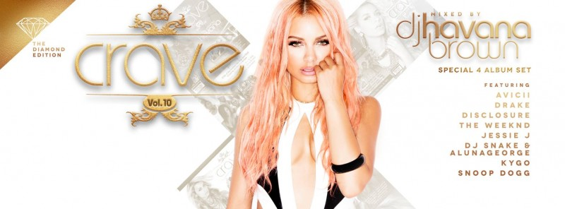 Havana Brown Crave The Diamond Edition Vol. 10 by Los Angeles Music Photographer James Hickey