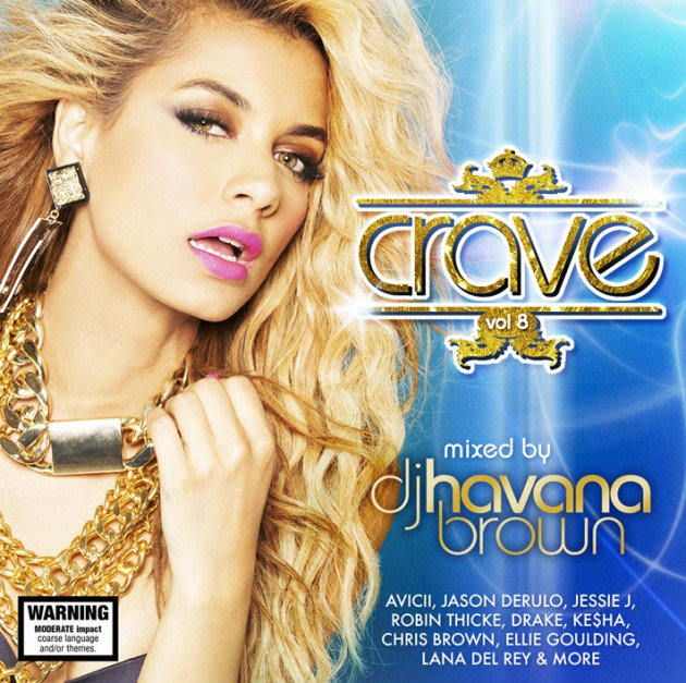 Havana Brown Crave Vol.8 Cover by Los Angeles Fashion Photographer James Hickey