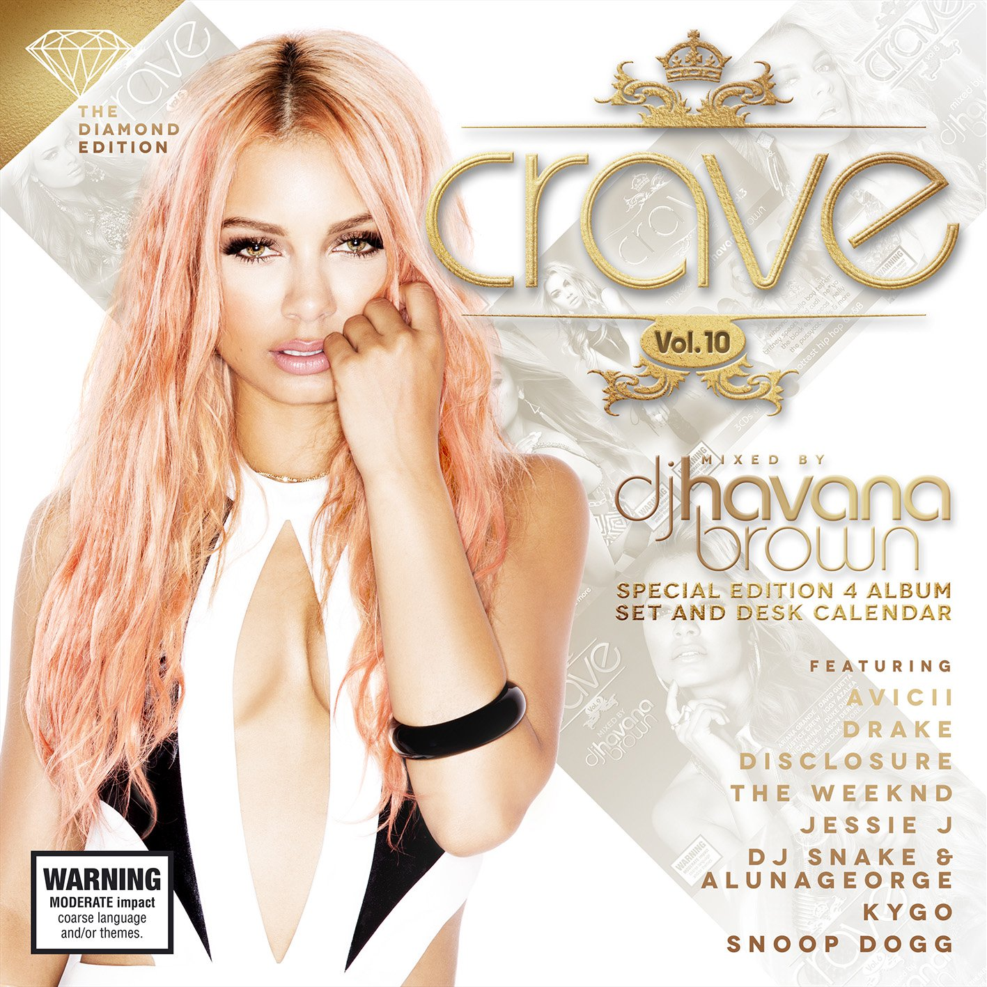 Havana Brown Crave Vol.10 The Diamond Edition Cover by Los Angeles Fashion Photographer James Hickey