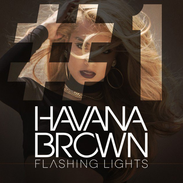 Havana Brown Flashing Lights Album Cover by Los Angeles Photographer James Hickey