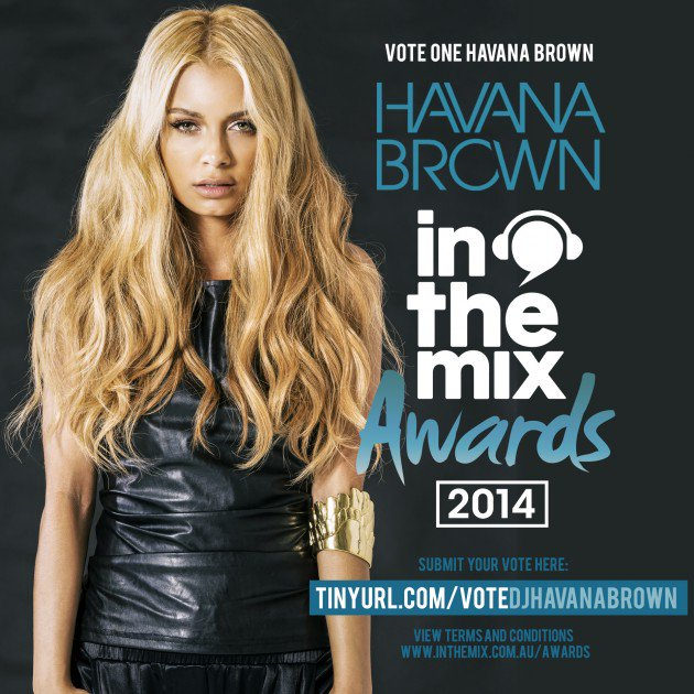 Havana Brown In the Mix Awards 2014 Promo by Los Angles Fashion Photographer James Hickey