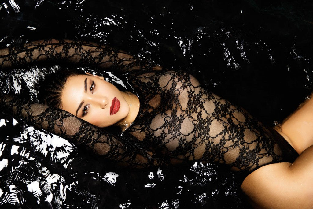 Yadea in water by Los Angeles music photographer James Hickey.