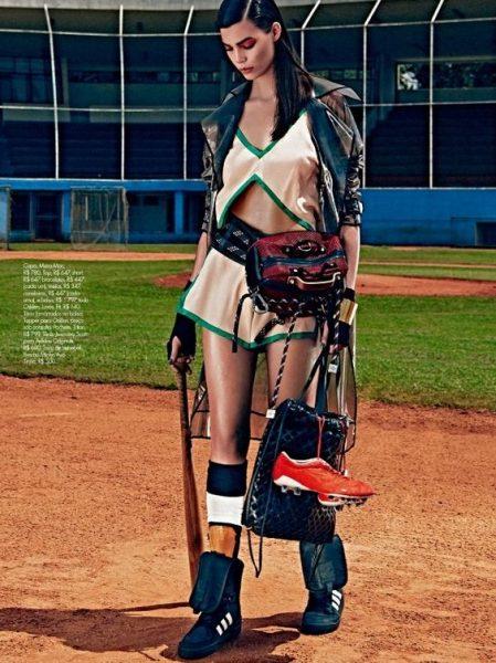 Elle Brazil Sports Inspired Fashion