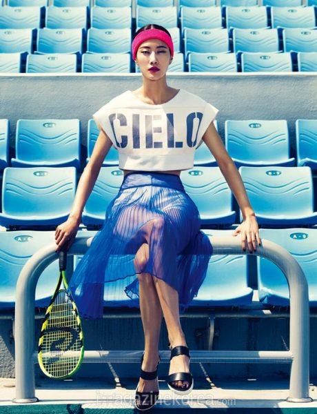 Harper's BAZAAR Korea Sports Inspired Fashion Elle Vietnam