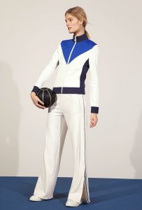 Tennis-Ball Bomber at Tory Sport Sports Inspired Fashion