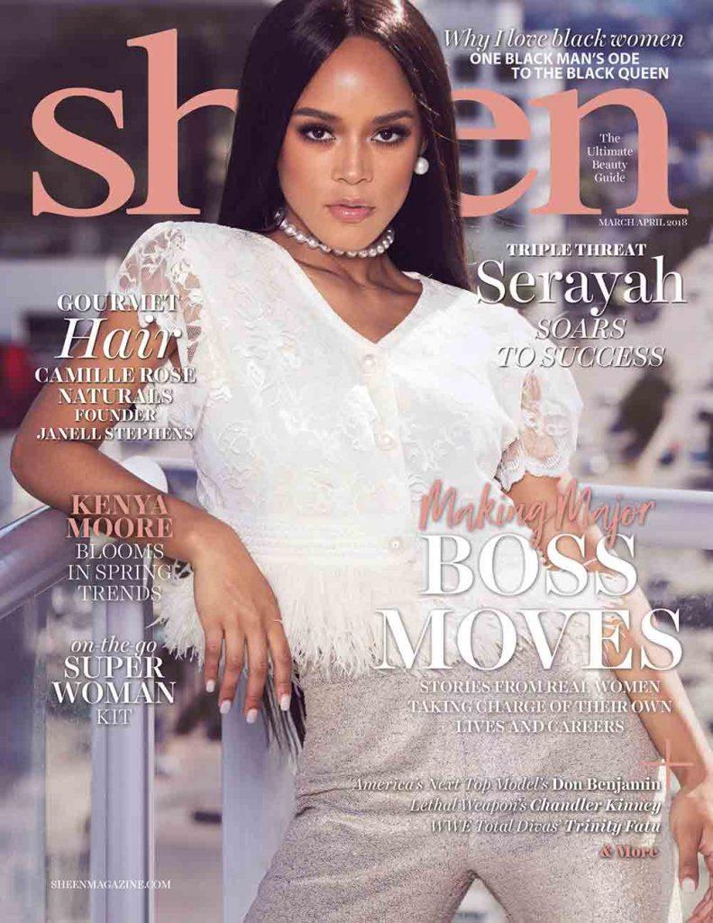Serayah Magazine Cover by James Hickey